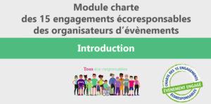 Module de formation des bénévoles d'un évènement sportif aux enjeux du développement durable