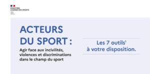 Prévention des violences et des discriminations dans le sport : les 7 outils à votre disposition