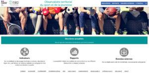 Carte interactive pour le sport